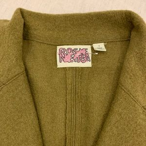 Anthropologie Jackets & Coats - 🖤 New Rose Neira by Anthropologie Sweater jacket
